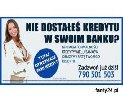 Kredyt oddłużeniowy, bez zbędnych formalności do 200 tys. Akceptujemy Bazy